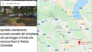 indirizzo e mappa sportello Via Scalabrini