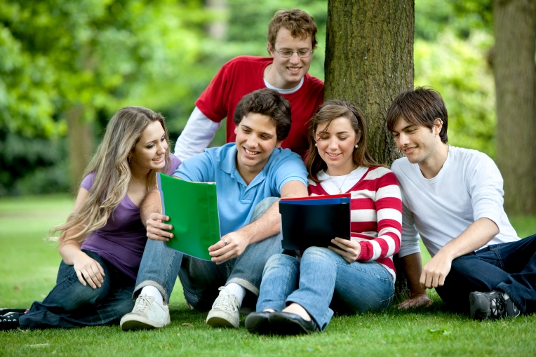 http://www.dreamstime.com/stock-image-students-oudoors-image12815801